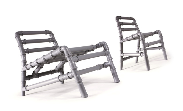 ", '""Tuttitubi"" chairs,' 2003, Triennale Design Museum"