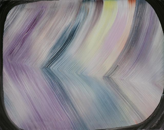 , 'A painting with dark brown frame,' 2012, Temnikova & Kasela