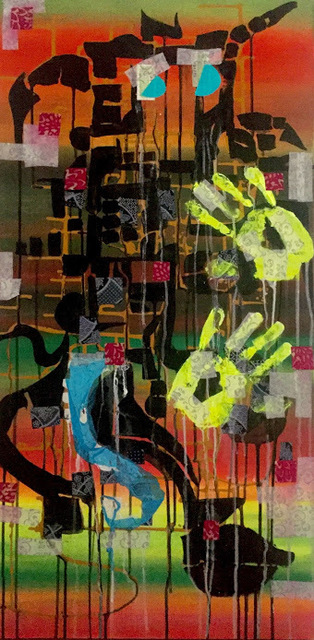 , '22FA,' 2017, Joshua Tree Art Gallery