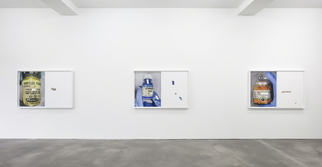 Analia Saban, Installation view, 'Pigmente', Sprüth Magers, Berlin, July 7 - September 2, 2017