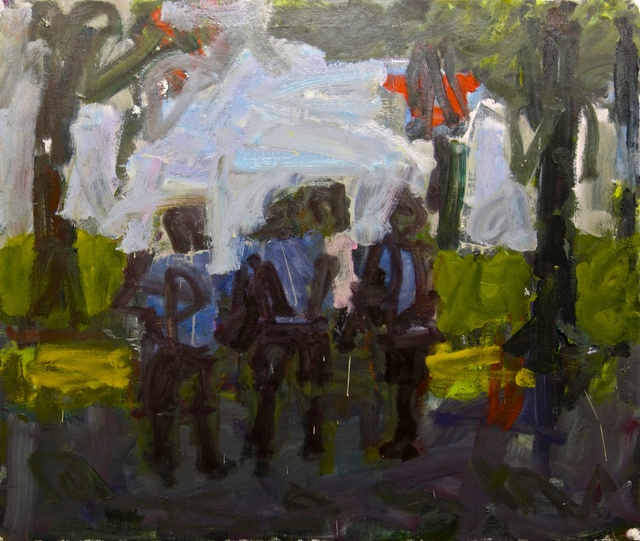 , 'In the Park (Figures),' 2014, Stuart & Co. Gallery