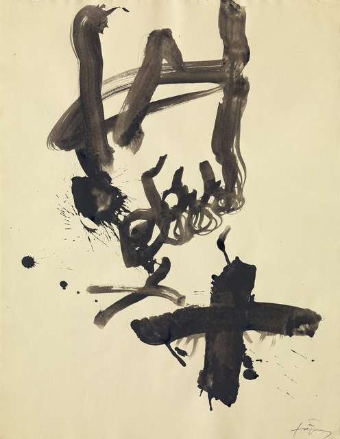 , 'Creu sobre peu III,' 1993, Galerie Lelong & Co.