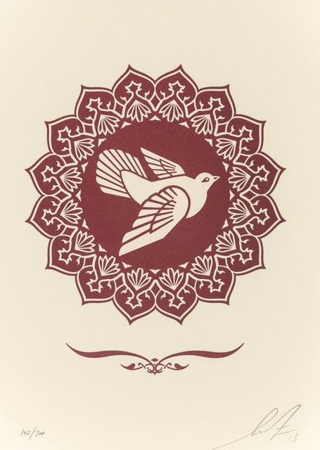 Shepard Fairey, 'Peace Dove Letterpress Print', 2013, Heritage Auctions