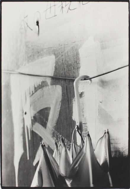 , 'Umbrella, Nihon University, College of Art (Barricade series),' 1968, MIYAKO YOSHINAGA