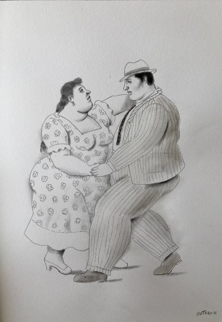 Fernando Botero, 'Couple Dancing', 2016, Ode to Art