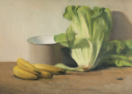 David Nipo, 'Composition with Lettuce', 2010, Contemporary by Golconda