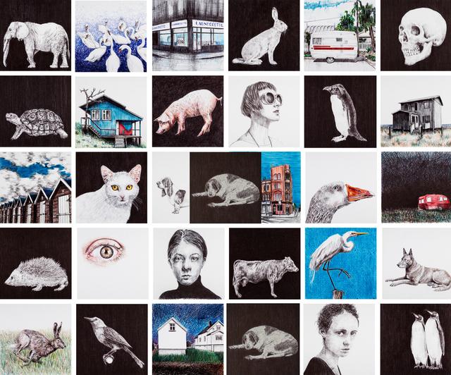 , 'I don't Draw on Sundays (Installation),' 2018, Beatriz Esguerra Art