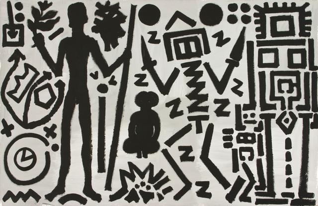 """, '""""Welt des Adlers IV (World of the Eagle IV)"""",' 1981, Michael Werner Gallery"""