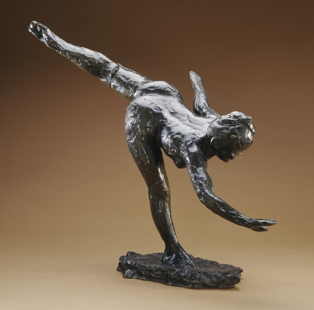 Edgar Degas, 'Grande Arabesque', first modeled ca. 1885-1890; this example cast posthumously, Sculpture, Bronze, Los Angeles County Museum of Art