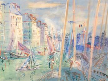 Le Quai Videcoq au Havre, circa