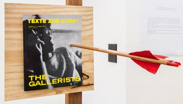 , 'Os galeristas necessitam dos artistas, mas os artistas não necessitam dos galeristas,' 2015-2016, Sé Galeria
