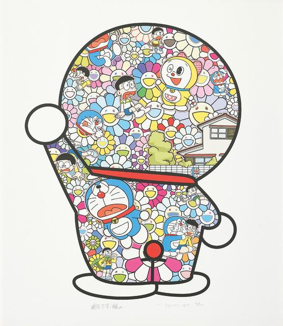 Takashi Murakami, 'Doraemon in the Field of Flowers', 2019, Phillips