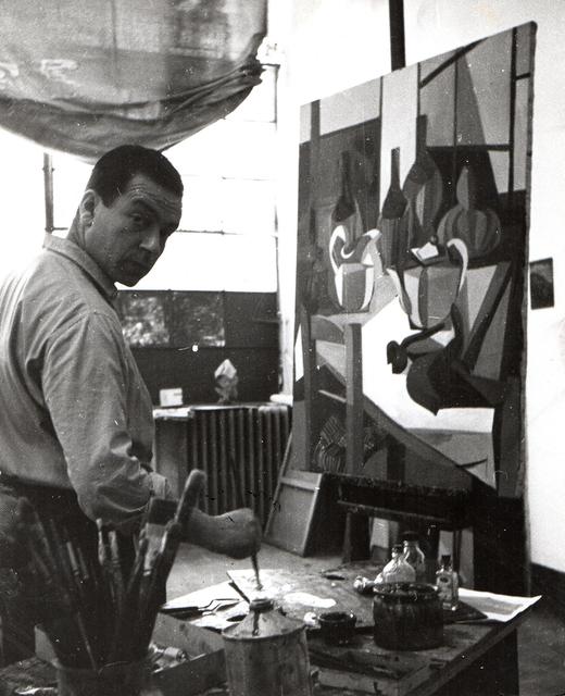 Pasquale de Antonis, 'Renato Guttuso portrait', 1946, Photography, Silver bromide print, Bertolami Fine Arts