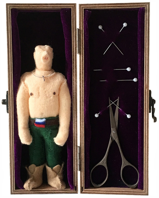 , 'Putin Voodoo Doll,' 2017, The Untitled Space
