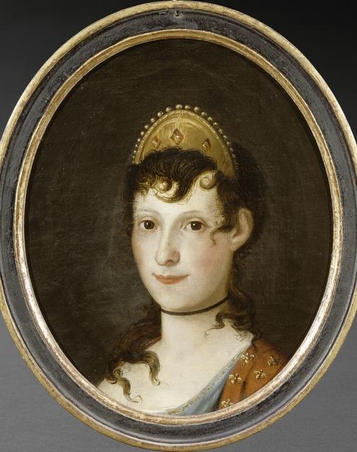 'Portrait rétrospectif de Letizia Bonaparte (Portrait of Letizia Bonaparte)', 19th century, Musée national de la maison Bonaparte