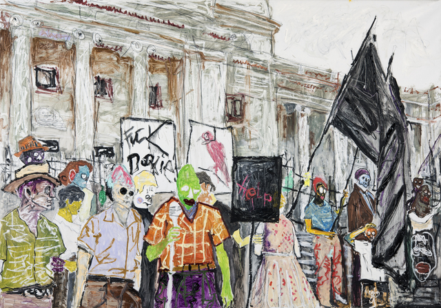, 'The Protest,' 2015, Spinello Projects