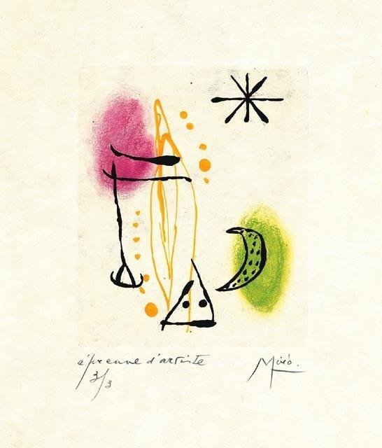 , 'Suite La Bague D'Aurore - plate 2,' 1957, Galerie Maximillian