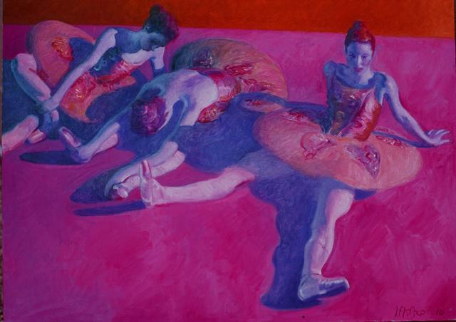 John Asaro, 'Rose and Grey Dancers', ca. 2016, Ethos Contemporary Art
