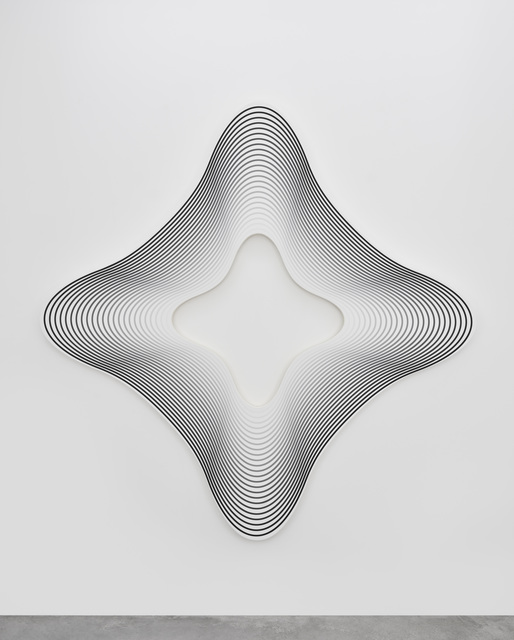 , 'Delay (square on the angles to white / 24),' 2017, PRAZ-DELAVALLADE