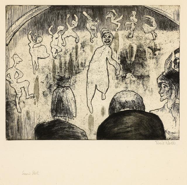 , 'Ballet ,' 1922, Galerie Herold