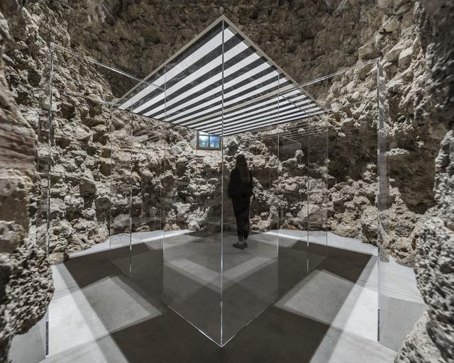 , 'La Cabane éclatée transparente II,' 2018, GALLERIA CONTINUA