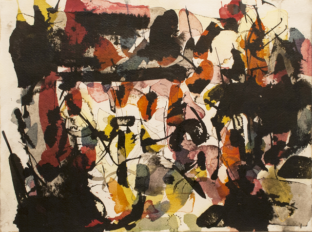 , 'Untitled,' 1960, Canadian Fine Arts