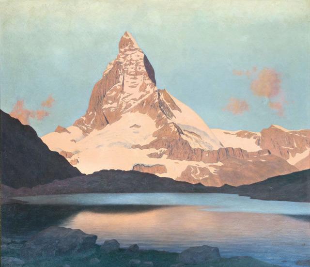 , 'The Matterhorn,' 1920, Galerie Kovacek