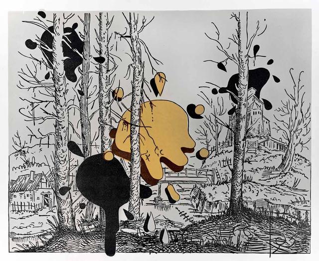 , 'Landscape with spots III,' 2018, Galerie Kleindienst