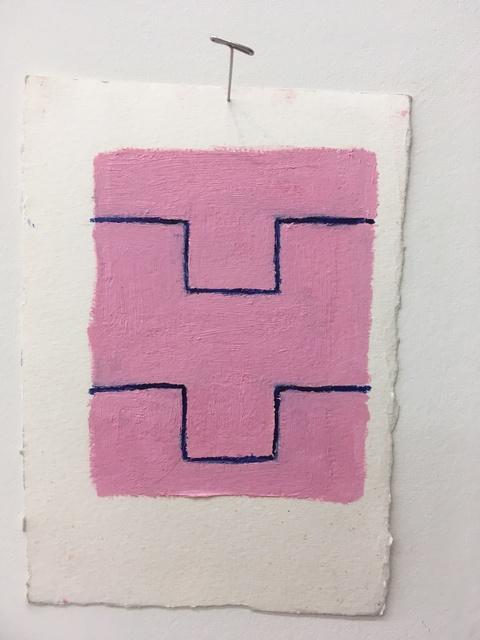 , 'Pink: blue (Y),' 2019, Amos Eno Gallery