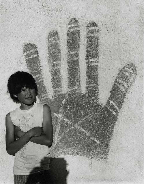 , 'Johnnie Sanchez as a Boy, Bernalillo, NM.,' 1973, Etherton Gallery