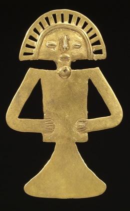 'Figural Pendant ', ca. 700-1000, Walters Art Museum