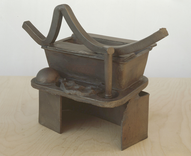 , 'Anchor Zone (Table Bronze),' 1989-1990, Annely Juda Fine Art