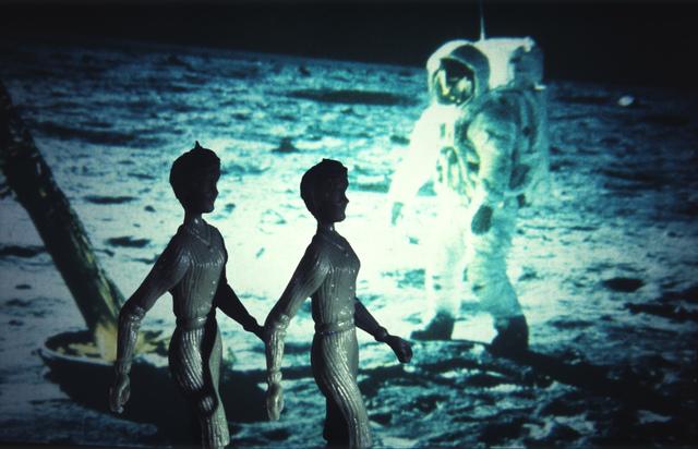 , 'Tourism: Moonwalk Apollo II Mission,' 1984, Wilkinson