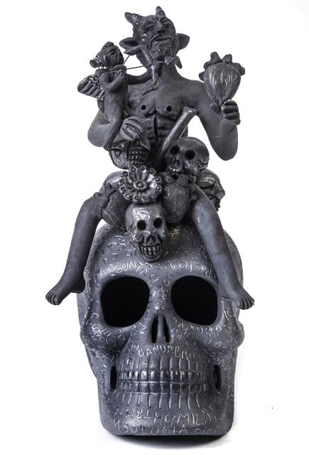 , 'Dime tus Secretos Ceramics Black Clay Mexican Folk Art,' 2017, Cactus Fine Art