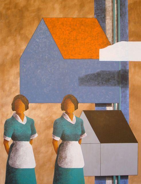 Juan Dolhare, 'El Sueño de las Dos Casas y las Dos Mucamas', 2010, LaCa Projects