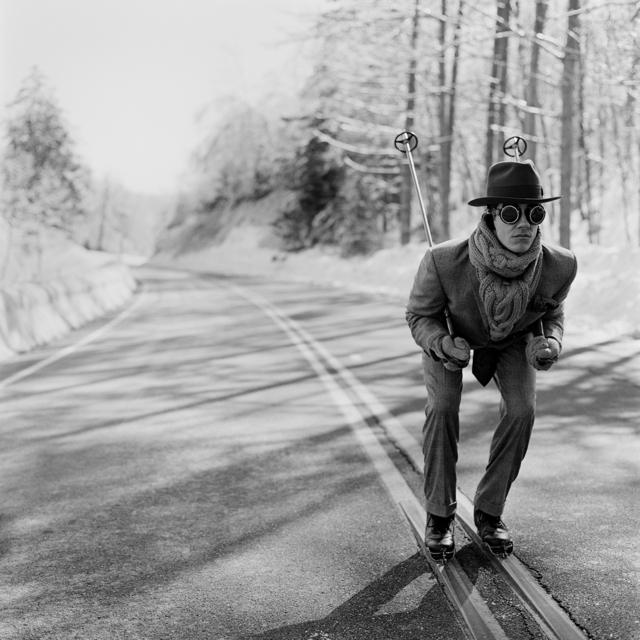 , 'Reed Skiing in Road, Lake Placid, NY,' 2008, Gilman Contemporary
