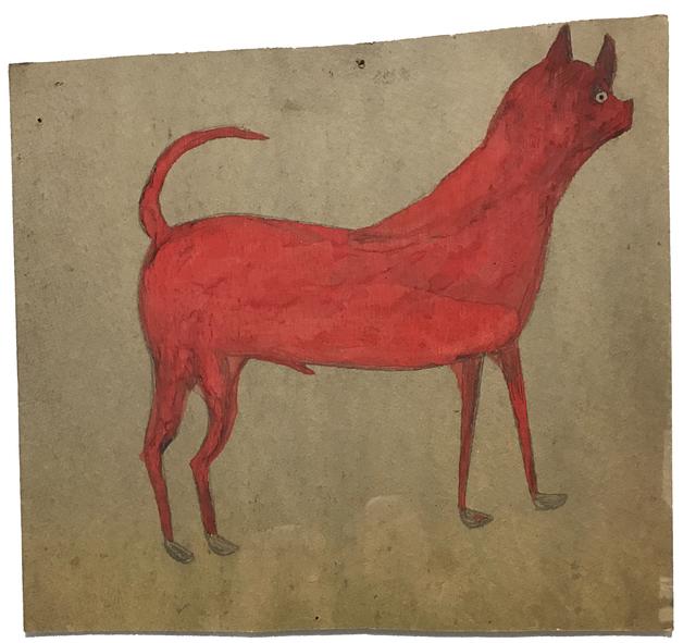 , 'Untitled (Red/ Orange Dog),' 1939-1942, Ricco/Maresca Gallery