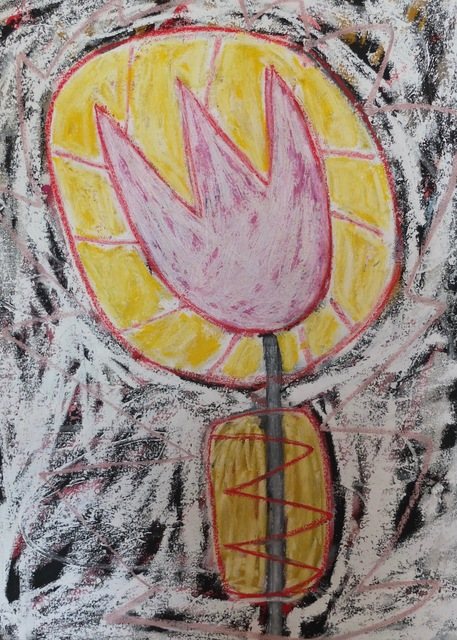 , 'Sunlight Before Sunset Tulip,' 2017, Madelyn Jordon Fine Art