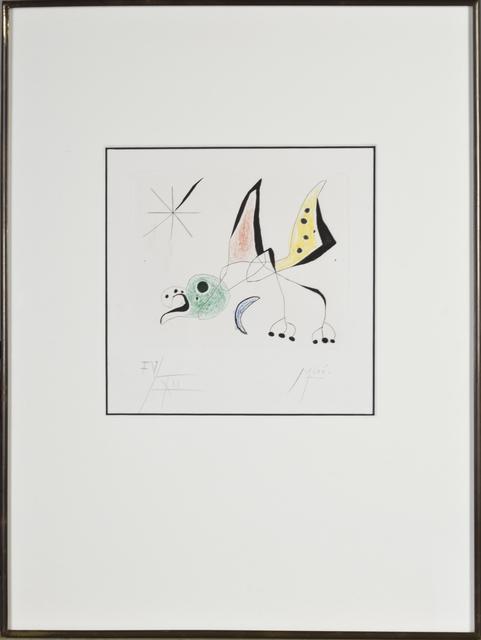 """, 'Bird from """"Bague d'Aurore"""",' 1957, David Barnett Gallery"""