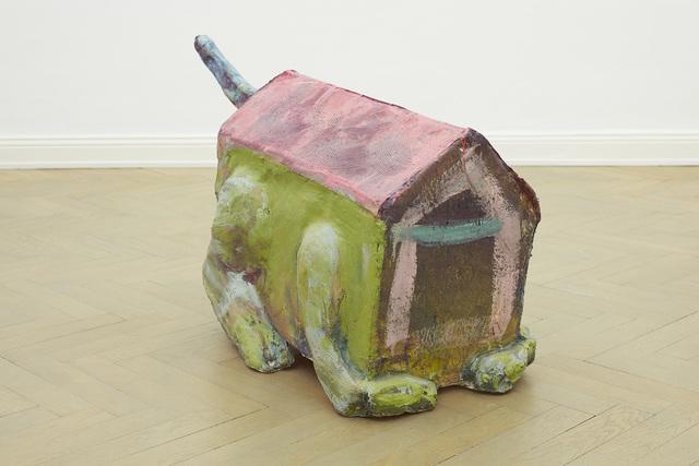 Musa paradisiaca, 'Casa-animal [Animal-house]', 2016, Sculpture, Painted polyester resin and fiberglass, Dan Gunn