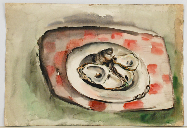 , 'Oysters,' 1941, Sragow Gallery