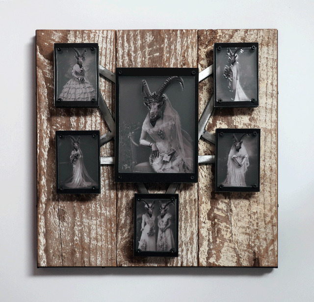 , 'The Bride Queen & Her Minions,' 2018, Joshua Tree Art Gallery