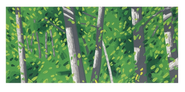 , 'Forest,' 2008, Richard Levy Gallery