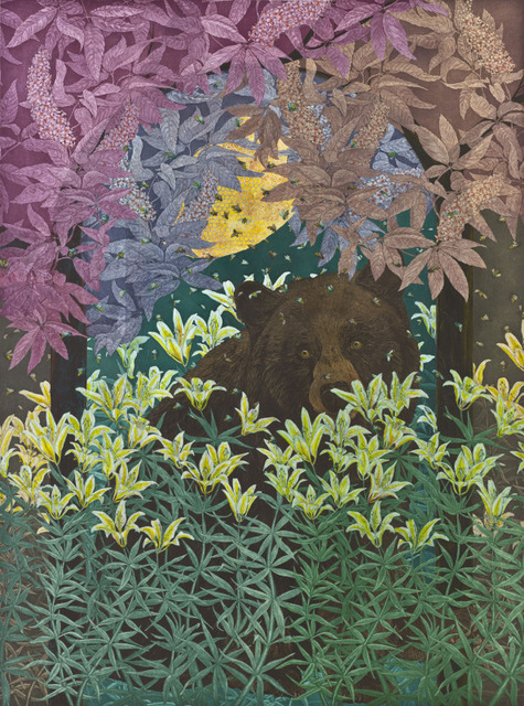 , 'The Bear and the Bees,' 2018, Wally Workman Gallery