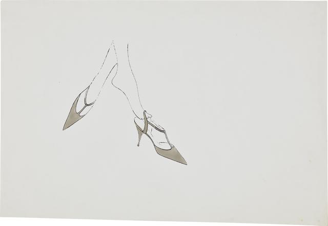 Andy Warhol, 'Feet in High Heels', ca. 1958, Phillips