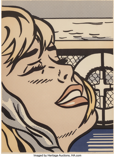Roy Lichtenstein, 'Shipboard Girl', 1965, Print, Offset lithograph in colors, Heritage Auctions