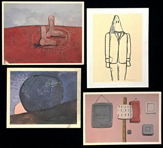 Philip Guston, 'Vintage Philip Guston exhibition announcements (set of four) ', ca. 1983, Lot 180
