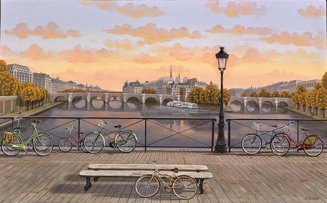Liudmila Kondakova, 'Pont des Arts', 2016, Martin Lawrence Galleries