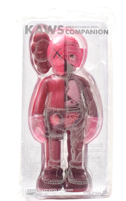 KAWS, 'COMPANION BLUSH (Flayed)', 2017, Sculpture, Painted Cast Vinyl, Silverback Gallery