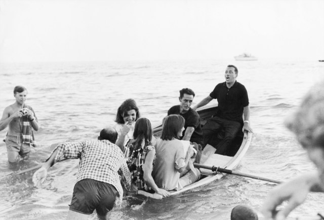 , 'Jackie Kennedy, boat. Ravello, August 1962,' 1962, Galerie XII